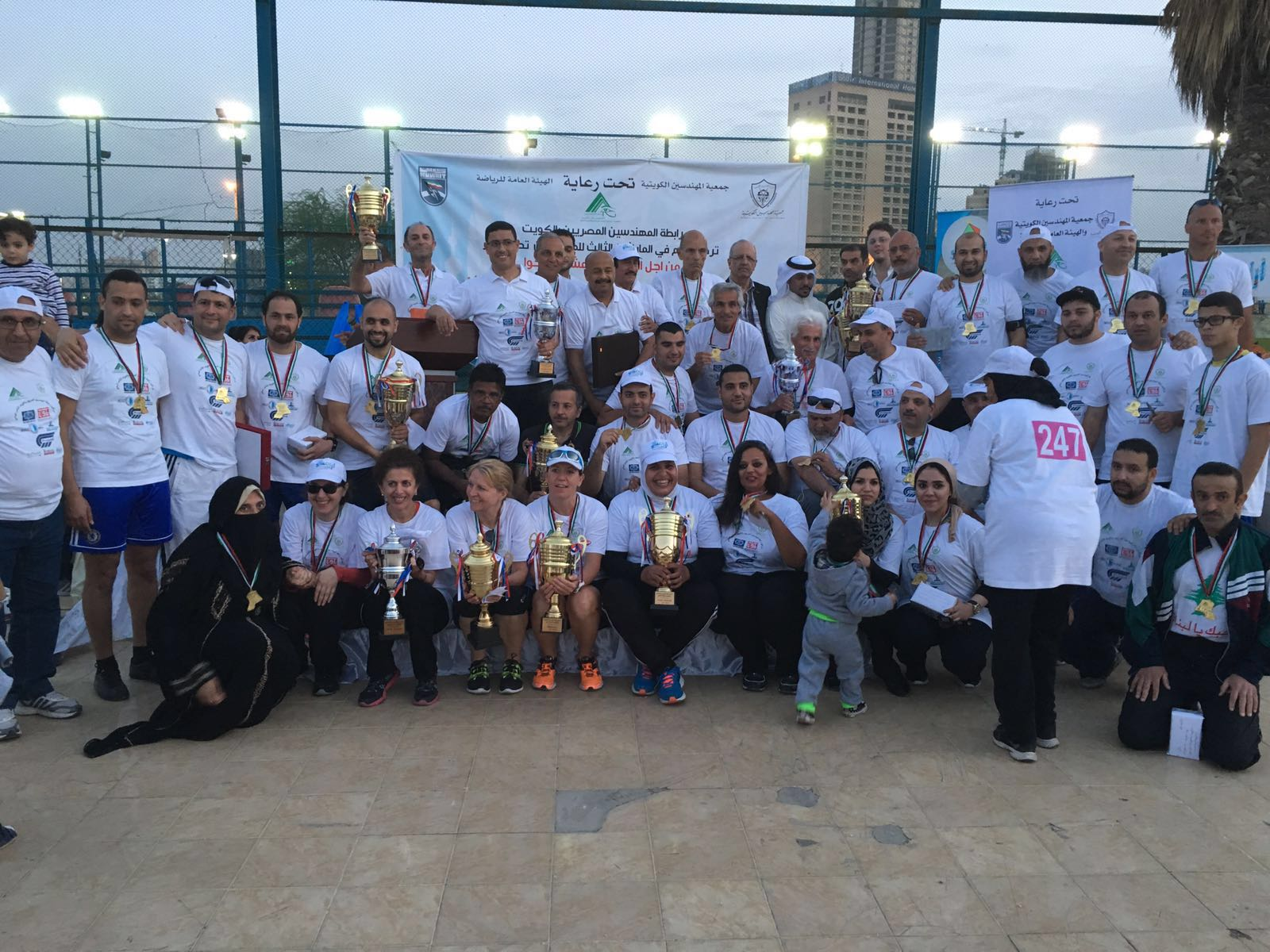 ماراثون رابطة المهندسين المصريين بالكويت الثالث للمشي – ألبوم صور