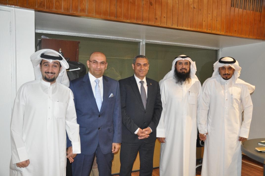 رئيس الجمعية استقبل رئيس النقابة المصرية برامج تقييم مشتركة مع المصريين لحماية المهنة الهندسية