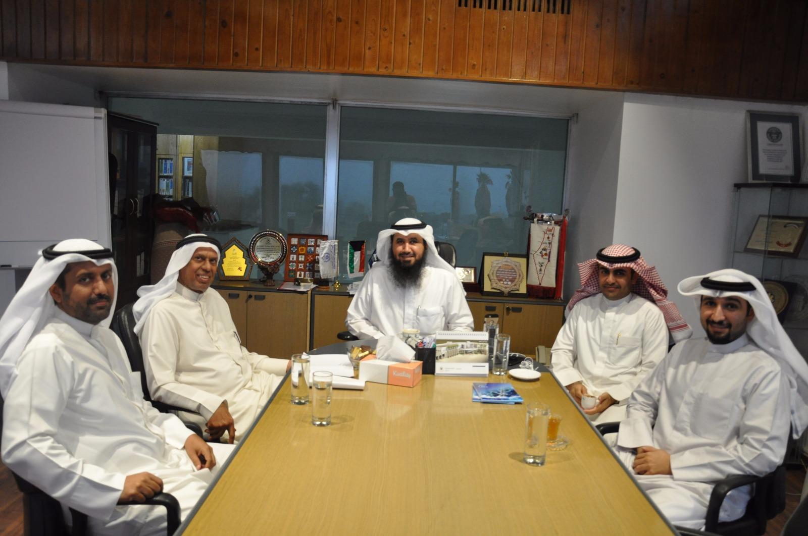 تعاون مهني مستقبلي بين الجمعية واتحاد المكاتب