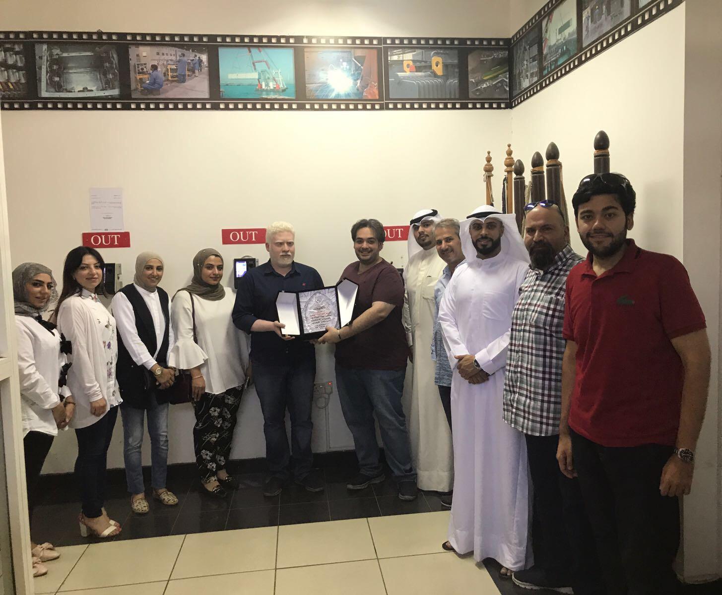 نظمت لجنة العلاقات العامة زيارة للشركة الأهلية للوحات الكهرباء