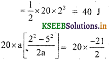 KSEEB Solutions for Class 9 Science Chapter 11 Work and Energy 1