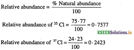 1st PUC Chemistry Question Bank Chapter 1 Some Basic Concepts of Chemistry - 13