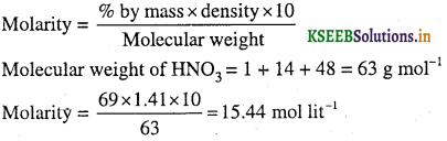 1st PUC Chemistry Question Bank Chapter 1 Some Basic Concepts of Chemistry - 37