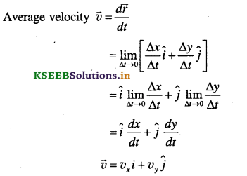 1st PUC Physics Question Bank Chapter 4 Motion in a Plane - 27