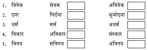 KSEEB Solutions for Class 10 Hindi वल्लरी Chapter 7 तुलसी के दोहे 1