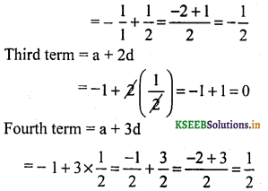 KSEEB Solutions for Class 10 Maths Chapter 1 Arithmetic Progressions Ex 1.1 6