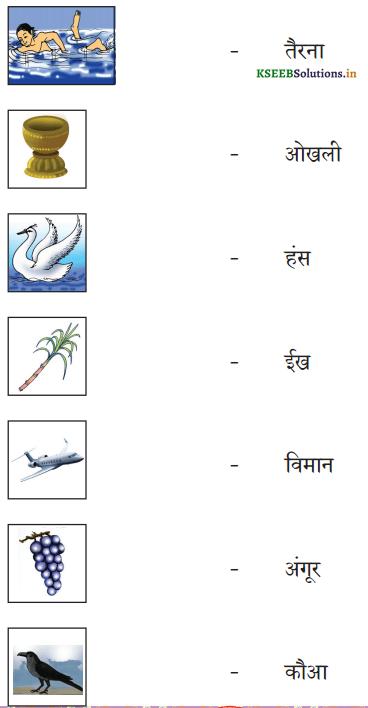 KSEEB Solutions for Class 6 Hindi वल्लरी Chapter 4 स्वर और उनकी मात्राएँ 19