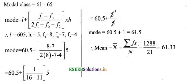 Karnataka SSLC Maths Model Question Paper 3 with Answers - 49