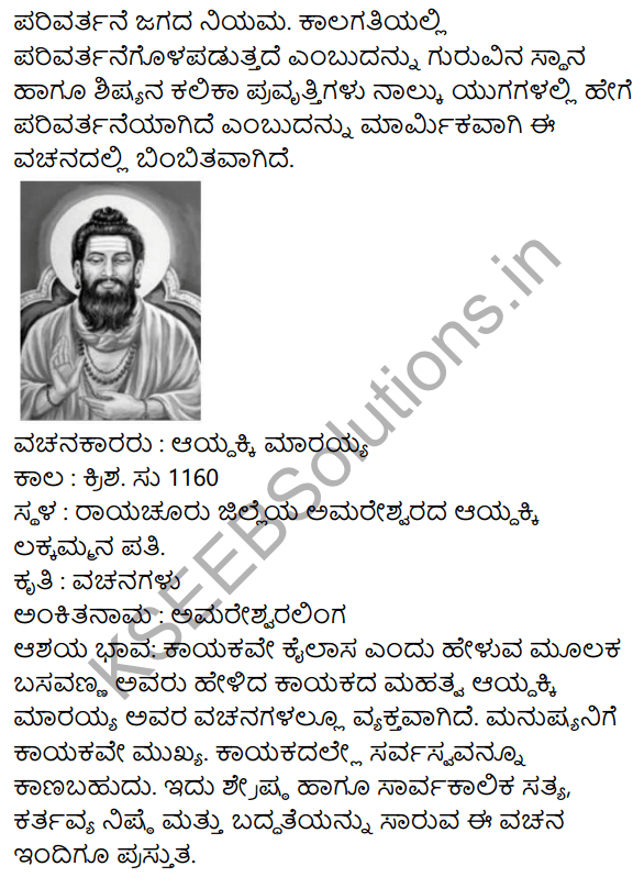 Vachanamrut Summary in Kannada 2