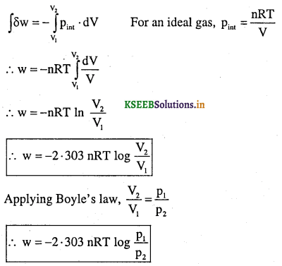 1st PUC Chemistry Question Bank Chapter 6 Thermodynamics - 6