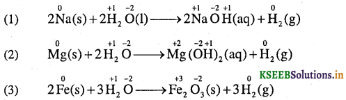 1st PUC Chemistry Question Bank Chapter 8 Redox Reactions - 9