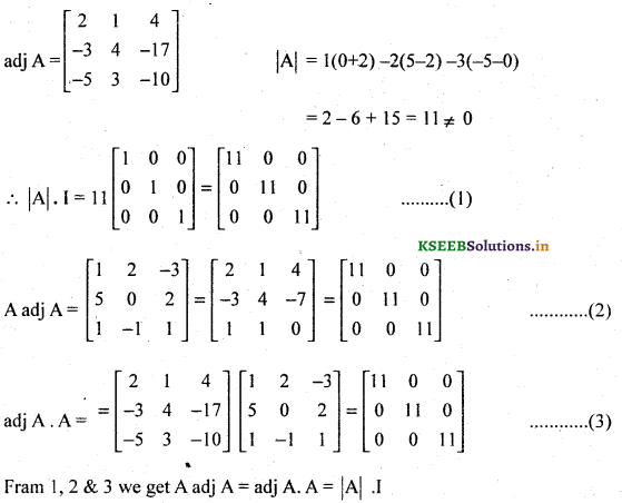 2nd PUC Basic Maths Question Bank Chapter 1 Matrices and Determinants 80