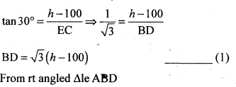2nd PUC Basic Maths Question Bank Chapter 13 Heights and Distances 21