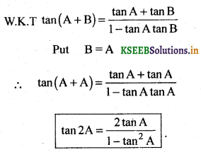 2nd PUC Basic Maths Question Bank Chapter 14 Compound Angles, Multiple Angles, Sub Multiples Angles and Transformation Formulae 14