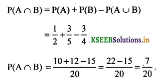 2nd PUC Basic Maths Question Bank Chapter 3 Probability 4