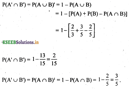 2nd PUC Basic Maths Question Bank Chapter 3 Probability 7