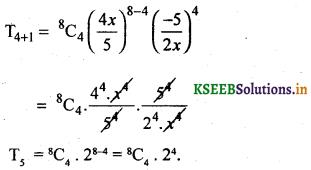 2nd PUC Basic Maths Question Bank Chapter 4 Binomial Theorem 1