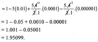 2nd PUC Basic Maths Question Bank Chapter 4 Binomial Theorem 12