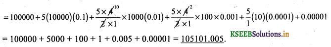 2nd PUC Basic Maths Question Bank Chapter 4 Binomial Theorem 18