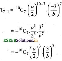 2nd PUC Basic Maths Question Bank Chapter 4 Binomial Theorem 3