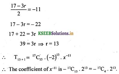 2nd PUC Basic Maths Question Bank Chapter 4 Binomial Theorem 37