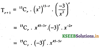 2nd PUC Basic Maths Question Bank Chapter 4 Binomial Theorem 40