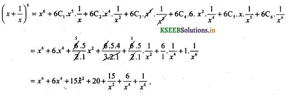 2nd PUC Basic Maths Question Bank Chapter 4 Binomial Theorem 7