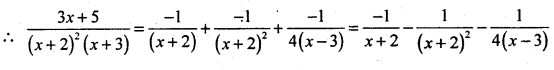 2nd PUC Basic Maths Question Bank Chapter 5 Partial Fractions 16