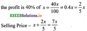 2nd PUC Basic Maths Question Bank Chapter 7 Ratios and Proportions 10