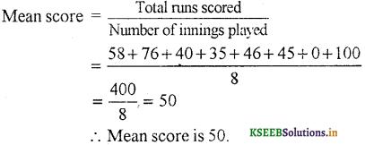 KSEEB Solutions for Class 7 Maths Chapter 3 Data Handling Ex 3.1 4
