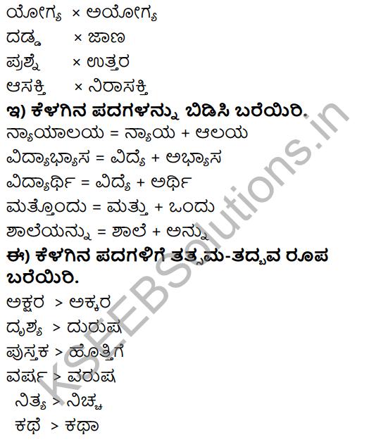 Tili Kannada Text Book Class 8 Solutions Gadya Chapter 3 Gandhijiya Balya 11