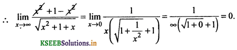 2nd PUC Basic Maths Question Bank Chapter 17 Limit and Continuity of a Function 110