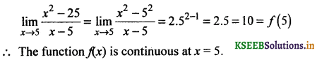 2nd PUC Basic Maths Question Bank Chapter 17 Limit and Continuity of a Function 123