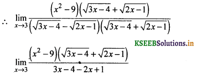 2nd PUC Basic Maths Question Bank Chapter 17 Limit and Continuity of a Function 44