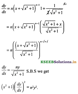 2nd PUC Basic Maths Question Bank Chapter 18 Differential Calculus 26