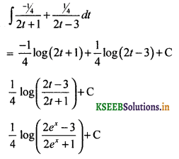 2nd PUC Basic Maths Question Bank Chapter 20 Indefinite Integrals 71