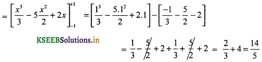2nd PUC Basic Maths Question Bank Chapter 21 Definite Integral and its Applications to Areas 6