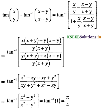2nd PUC Maths Question Bank Chapter - 2 Inverse Trigonometric Functions - 43