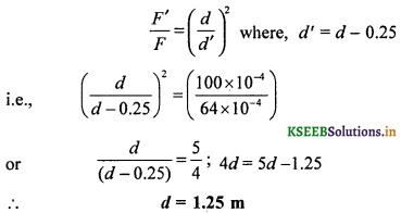 2nd PUC Physics Question Bank Chapter 1 Electric Charges and Fields 23