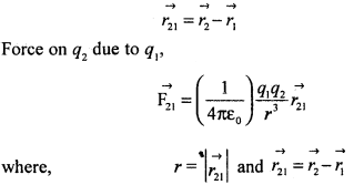 2nd PUC Physics Question Bank Chapter 1 Electric Charges and Fields 24