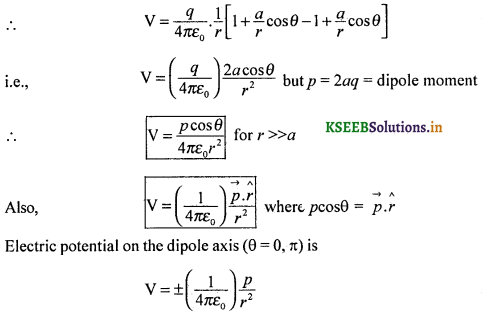 2nd PUC Physics Question Bank Chapter 2 Electrostatic Potential and Capacitance 56