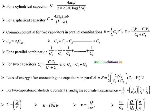 2nd PUC Physics Question Bank Chapter 2 Electrostatic Potential and Capacitance 58