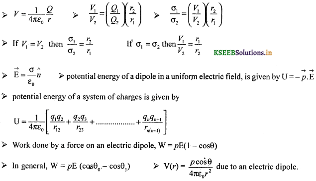 2nd PUC Physics Question Bank Chapter 2 Electrostatic Potential and Capacitance 59