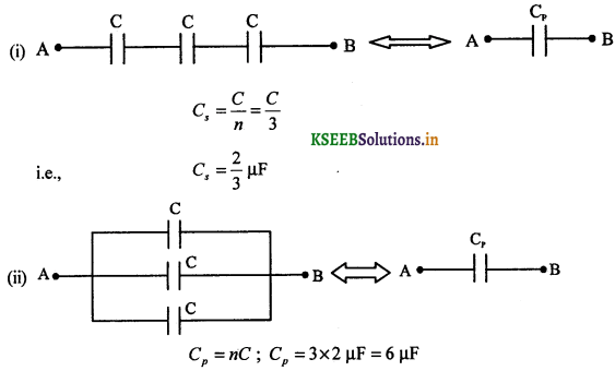 2nd PUC Physics Question Bank Chapter 2 Electrostatic Potential and Capacitance 79