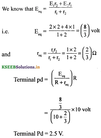 2nd PUC Physics Question Bank Chapter 3 Current Electricity 57