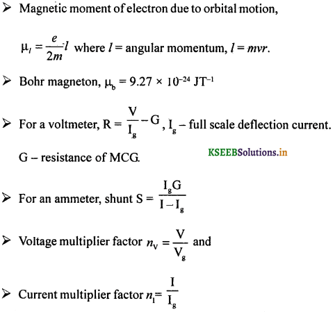 2nd PUC Physics Question Bank Chapter 4 Moving Charges and Magnetism 66