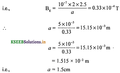2nd PUC Physics Question Bank Chapter 5 Magnetism and Matter 34