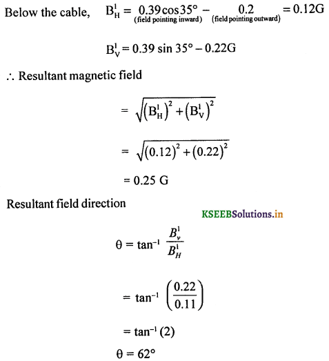 2nd PUC Physics Question Bank Chapter 5 Magnetism and Matter 36