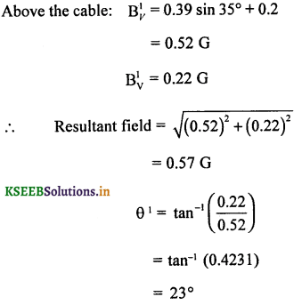 2nd PUC Physics Question Bank Chapter 5 Magnetism and Matter 37