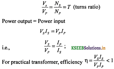 2nd PUC Physics Question Bank Chapter 7 Alternating Current 46